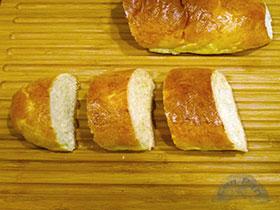 Pan de brioche para tostadas