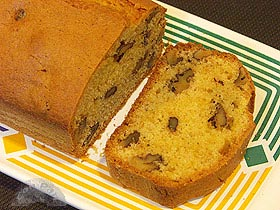 Plum-cake de nueces